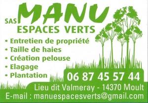 manu espaces verts